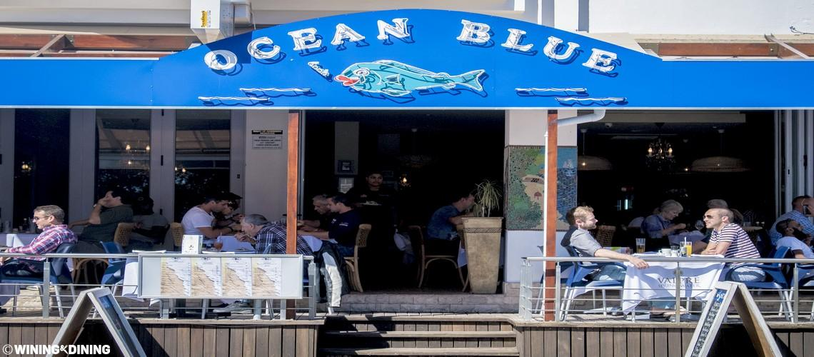 ocean blue restaurant camps bay cape town
