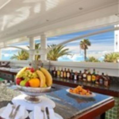 The Pool Bar at the Table Bay Hotel