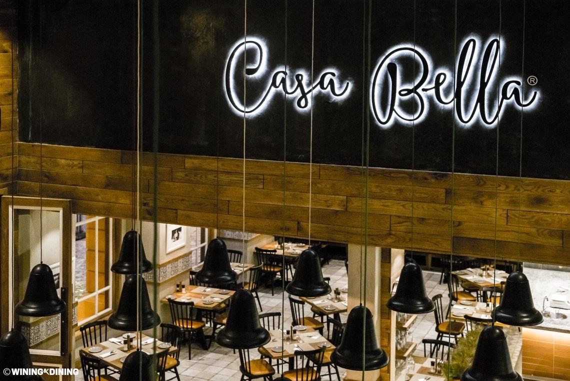 Casa bella grand west restaurant goodwood cape town for Casa bella