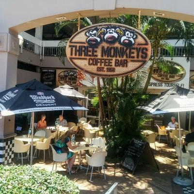 Three Monkeys Coffee Bar